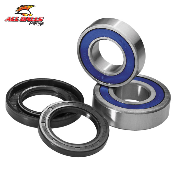 All Balls 25-1273 Kawasaki ZX 600 (ZX-6R) 03-13 Front Wheel Bearing and Seal Kit