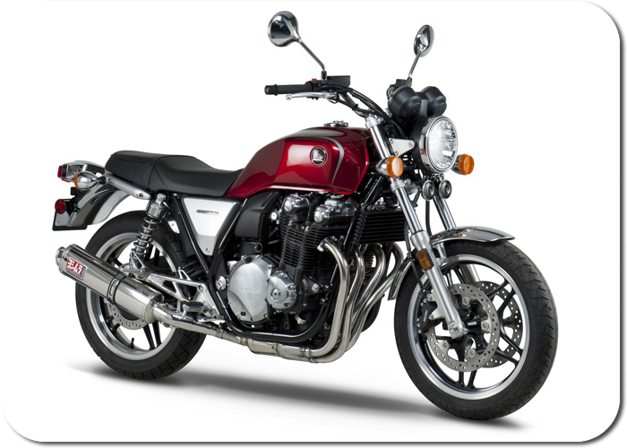 yoshimura rs 3 stainless slip on exhaust honda cb1100 2013. Black Bedroom Furniture Sets. Home Design Ideas